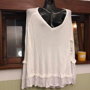 Free people v-neck cover up size L